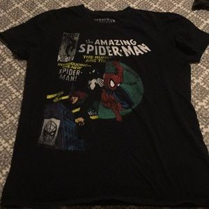 The Amazing Spider-Man graphic tee.